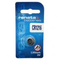 Renata Lithium Watch Batteries Coin Cells - CR1216